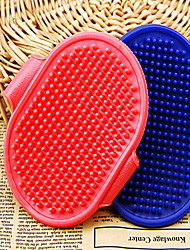 cheap -Cat Dog Brushes Grooming Cleaning Shower & Bath Accessories Plastic Brush Baths Waterproof Portable Low Noise Foldable Massage Pet Grooming Supplies Dot 1 Piece