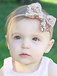 cheap -Toddler Boys' / Girls' Cotton / Satin Hair Accessories Red / Pink / Purple One-Size / Headbands