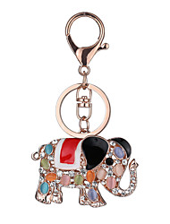 cheap -Key Chain Elephant Key Chain Creative Metal 1 pcs Chic & Modern Adults' Boys' Girls' Toy Gift
