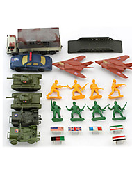 cheap -Action Figures & Stuffed Animals Display Model Toys Toys Novelty Plastic Boys' 20 Pieces