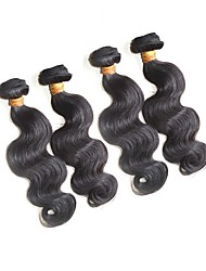 cheap -Human Hair Remy Weaves Body Wave Brazilian Hair 400 g More Than One Year