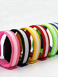Недорогие -огни безопасности / LED браслет для бега / Светящийся пояс Компактный размер для Походы / туризм / спелеология / Велосипедный спорт / Восхождение Белый / Красный / Синий Батарея