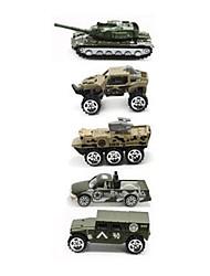 Недорогие -Игрушечные машинки Playsets автомобиля Модель авто Колесница моделирование Металлический сплав пластик Сплав металла Металл для Детские Мальчики Девочки