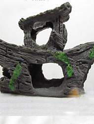 cheap -Aquarium Decoration Wood Non-toxic & Tasteless Wood Black