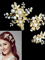 cheap -Crystal / Alloy Headwear / Hair Clip / Wreaths with Floral 1pc Wedding / Special Occasion Headpiece