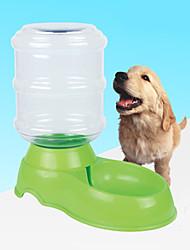 cheap -Dog Bowls & Water Bottles Pet Bowls & Feeding Reflective Red / Green / Blue