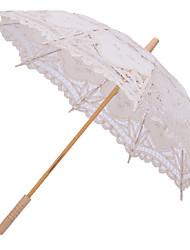 abordables -Poignée de post Mariage / Quotidien / Plage Parapluie Parapluie Env.78cm
