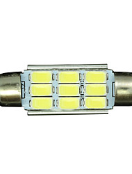 cheap -SO.K 10pcs T11 Car Light Bulbs 3 W SMD 5730 300 lm LED Interior Lights For