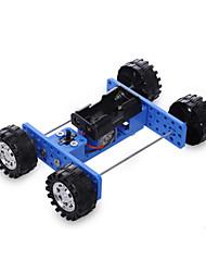 cheap -Toy Car Solar Powered Toy Car Novelty DIY Plastic Metal Boys' Toy Gift