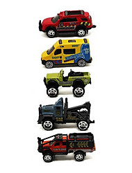cheap -1:64 Plastic Race Car Toy Truck Construction Vehicle Toy Car Vehicle Playset Kid's Car Toys