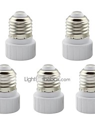 cheap -5 pcs  E27 to GU10 Ceramic Adapter Converter Base Holder Socket for LED Light Lamp