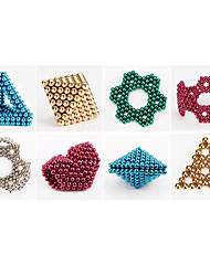cheap -1000 pcs 6mm Magnet Toy Magnetic Balls Building Blocks Super Strong Rare-Earth Magnets Neodymium Magnet Puzzle Cube Magnet Kid's / Adults' Boys' Girls' Toy Gift