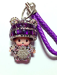cheap -Keychain Diamond Lovely Crystal For Adults' Boys' Girls' Birthday 1 pcs