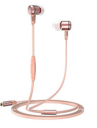 cheap -Langsdom Langsdom M410 Wired In-ear Earphone Wired with Microphone Mobile Phone
