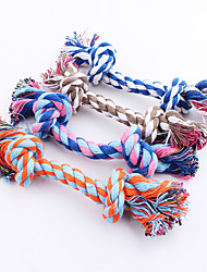 cheap -Chew Toy Dog Chew Toys Cat Chew Toys Ropes Dog Puppy Pet Toy 1 Rope Cotton Gift