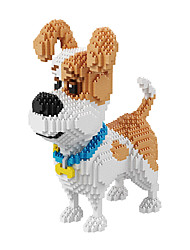 cheap -BALODY Building Blocks Military Blocks Educational Toy Construction Set Toys 2100 pcs Dog Diamond Movie Character Soldier compatible Plastic Legoing Creative Cool Classic & Timeless Chic & Modern