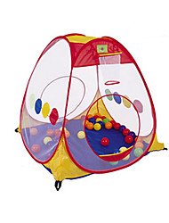 cheap -Play Tent & Tunnel Playhouse Tent Pretend Play Foldable Convenient Novelty Polyester Nylon Indoor Outdoor Spring Summer Fall 14 years+ Boys' Girls' Pop Up Indoor/Outdoor Playhouse for Boys and Girls