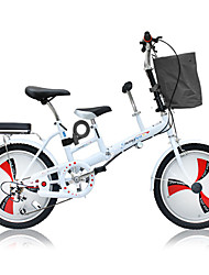 cheap -Folding Bike Cycling 3 Speed 20 Inch Double Disc Brake Springer Fork Monocoque Ordinary / Standard Aluminium Alloy / Steel / Yes / #