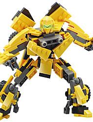 cheap -GUDI Robot Toy Car Building Blocks 211 pcs Warrior Machine Robot compatible Legoing Transformable Creative Cool Classic & Timeless Chic & Modern Glamorous & Dramatic Boys' Girls' Toy Gift