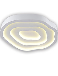 cheap -1-Light OYLYW Flush Mount Ambient Light Painted Finishes Metal Mini Style 90-240V Warm White / White LED Light Source Included / LED Integrated