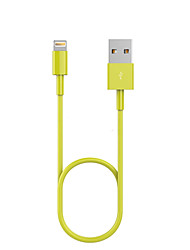 cheap -USB 2.0 / Lightning Cables / Cable 1m-1.99m / 3ft-6ft Normal TPU USB Cable Adapter For iPad / Apple / iPhone