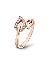 cheap -Ring Gold Silver Alloy Ladies Stylish Adjustable / Women's