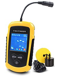 cheap -Fish Finder 1 pcs 50.8 mm LCD 100 m Waterproof 4×AAA Sea Fishing Fly Fishing Bait Casting / Hard Plastic / Ice Fishing / Spinning / Jigging Fishing / Freshwater Fishing
