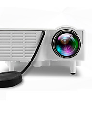 cheap -UNIC LCD LED Projector 500 lm Support 1080P (1920x1080) 10-100 inch / 4:3 and 16:9 / QVGA (320x240) / ±15°