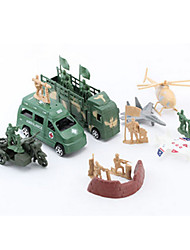 cheap -Action Figures & Stuffed Animals Display Model Toys Plastic Green