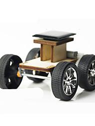 cheap -Toy Car Solar Powered Toy Building Blocks Car Solar Powered Novelty DIY Wood Plastic Metal Kid's Adults' Boys' Girls' Toy Gift / Wooden Model
