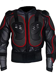 cheap -Unisex Long Sleeve Cycling Jacket Summer Winter Nylon Black / Red Black Bike Jersey Top Anatomic Design Sports Clothing Apparel