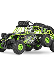 cheap -RC Car WLtoys 18628 2.4G Buggy (Off-road) / Rock Climbing Car / Off Road Car 1:18 Brush Electric 10 km/h Remote Control / RC / Rechargeable / Electric