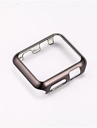 Недорогие -Чехол Назначение Apple Watch Series 4/3/2/1 ПК Совместимость Apple