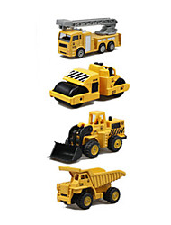 cheap -1:64 Metalic Plastic Toy Truck Construction Vehicle Toy Car Kid's Car Toys