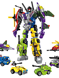 cheap -ENLIGHTEN Robot Building Blocks 506 pcs Military Warrior Machine compatible Legoing Transformable Creative Cool Classic & Timeless Chic & Modern Special Boys' Girls' Toy Gift
