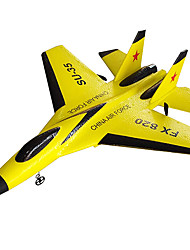 cheap -Glider RC RC Airplane Yellow Some Assembly Required Remote Controller/Transmmitter USB Cable User Manual Aircraft Blades