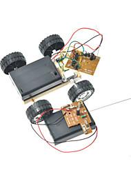cheap -Remote Control RC Building Block Kit Toy Car Solar Powered Toy Car Remote Control / RC Novelty DIY Metalic Plastic Kid's Boys' Girls' Toy Gift