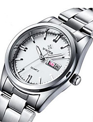 cheap -Women's Fashion Watch Dress Watch Wrist Watch Quartz White 30 m Calendar / date / day Noctilucent Analog Ladies Charm - White Blue Pink
