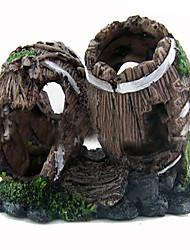 cheap -Aquarium Decoration Wood Non-toxic & Tasteless Resin
