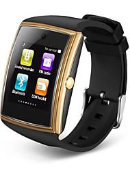Недорогие -Смарт Часы для iOS / Android Пульсомер / Израсходовано калорий / Длительное время ожидания / Хендс-фри звонки / Видео / 1.3 мегапикс. / Датчик для отслеживания активности / Сидячий Напоминание
