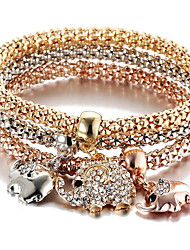 cheap -Charm Bracelet Animal Fashion Turkish Alloy Bracelet Jewelry Gold For Sports