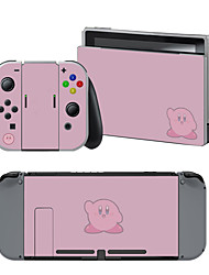 cheap -B-SKIN Nintendo Switch / NS Sticker For Nintendo Switch ,  Portable / Novelty Sticker Vinyl 1 pcs unit