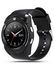 cheap -V8 Men Smartwatch Android Bluetooth Touch Screen Hands-Free Calls Camera Distance Tracking Pedometers Pedometer Remote Control Fitness Tracker Activity Tracker Sleep Tracker / 0.3 MP / Find My Device