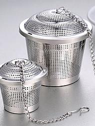 Недорогие -Нержавеющая сталь Инструкция 1шт Ситечко для чая / Подарок / Повседневные / Чайный