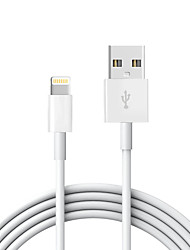 cheap -USB 2.0 / Lightning Cable 2m-2.99m / 6.7ft-9.7ft Normal TPE USB Cable Adapter For iPad / Apple / iPhone
