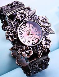 cheap -Women's Fashion Watch Quartz Analog White Purple Red