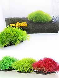 cheap -Fish Tank Aquarium Decoration Waterplant Yellow Artificial Plastic 1 pc 12*7 cm