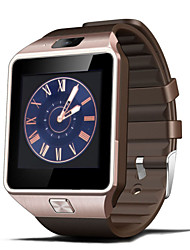 Недорогие -Смарт Часы для iOS / Android Хендс-фри звонки / Сенсорный экран / Фотоаппарат / Педометры / Шагомер / Секундомер / Датчик для отслеживания активности / Датчик для отслеживания сна