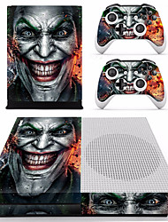 Недорогие -B-SKIN XBOX ONE  S PS / 2 Стикер Назначение Xbox One S ,  Оригинальные Стикер PVC 2 pcs Ед. изм