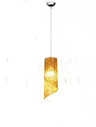 cheap -3-Light 10cm(3.9inch) LED Pendant Light Metal Cylinder Electroplated Traditional / Classic 110-120V / 220-240V